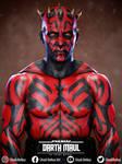 Darth Maul From Star Wars Game Character - Fanart