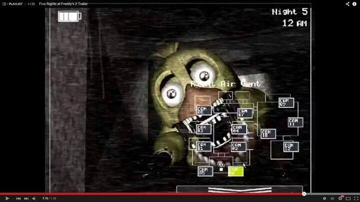 Five Nights At Freddys 2 Trailer
