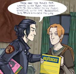 sirius and remus, flatmates HP