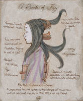Futakuchi-Onna - A Book of Fey by LamechO