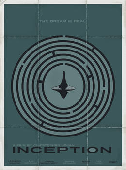 Inception minimal movie poster