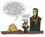 Thor is an annoying big brother