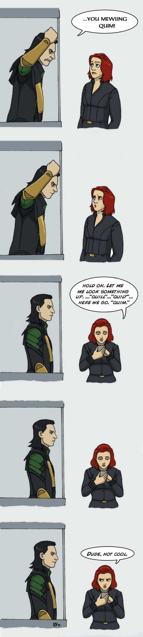 The Avengers - Let me look something up by LamechO