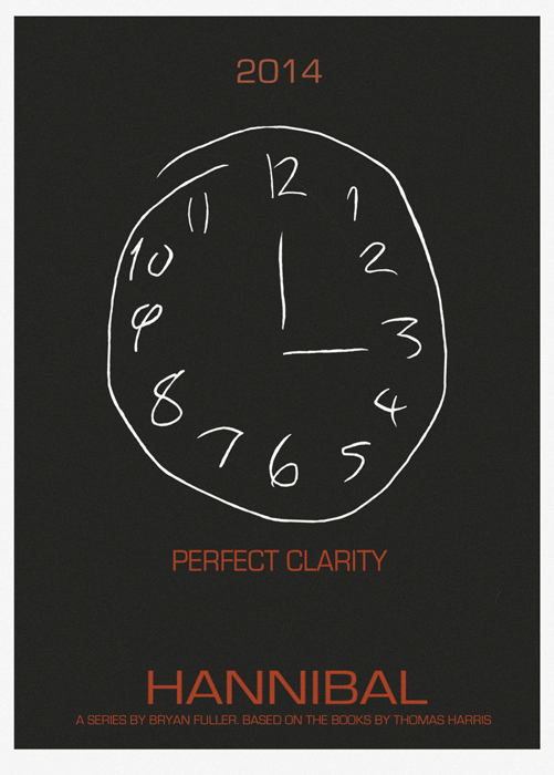 Hannibal Minimalist Poster Perfect Clairty By LamechO