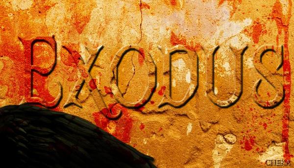 Exodus - Conceptual Typography by cheyika