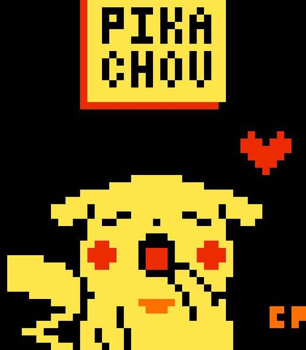 Pika-Chou Pixel Art by cheyika