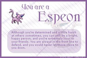 I AM AN ESPEON
