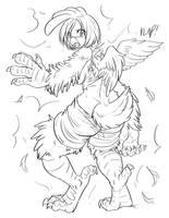 Werechicken 4 by crowbb