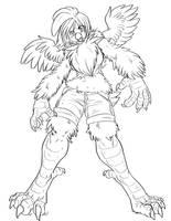Werechicken 5 by crowbb