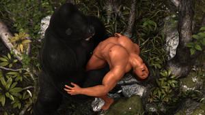Tarzan in trouble (1)