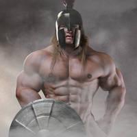Spartan warrior by Catweazle01