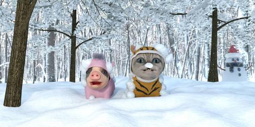 Winter by Catweazle01