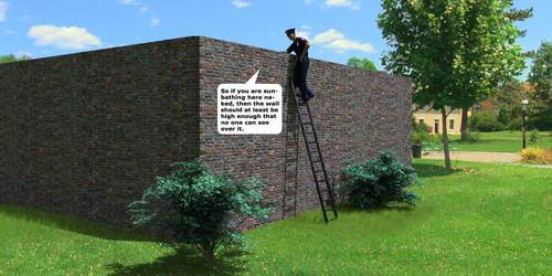 Wall joke by Catweazle01