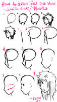 How to Draw Face Side Views