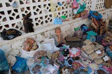 A street seller's child by weddige