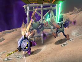 Meta Knight Against Subspace by ShadowDragonSensei