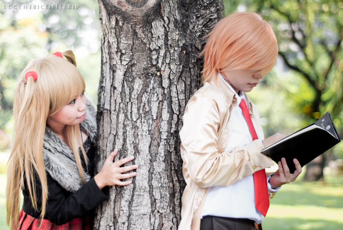 Death Note Light Yagami And Misa Amane Cosplay By