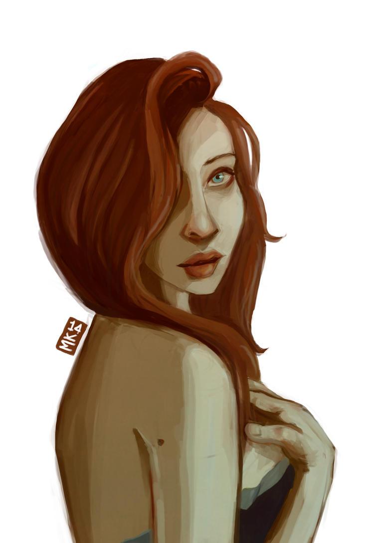 Girl 2 by MK-D
