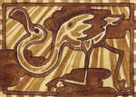 aceo (iatcs) flamingo