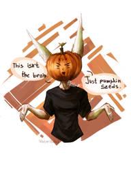 Pumpkin Week. Art Challenge. Third day by Viktor-Holod