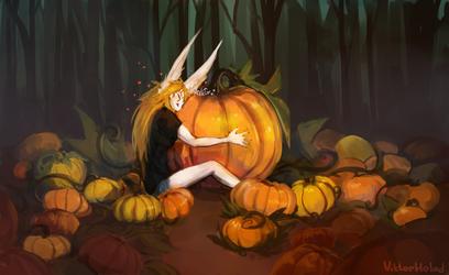 Pumpkin Week. Art Challenge. Fourth day by Viktor-Holod