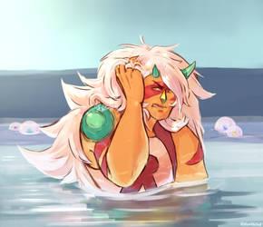 Horned Jasper by Viktor-Holod