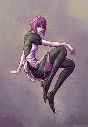 Maid-chan by Viktor-Holod