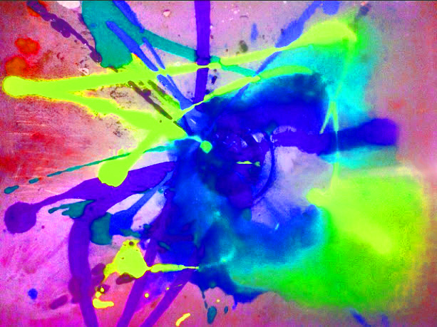 Neon Splatter Paint by mjohnson1 on DeviantArt  Neon Splatter P...
