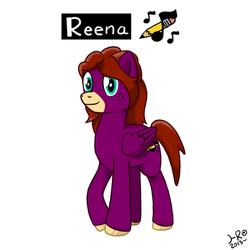 Reena the Pegasus by HeatResin