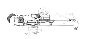 Sniper Pony by HeatResin