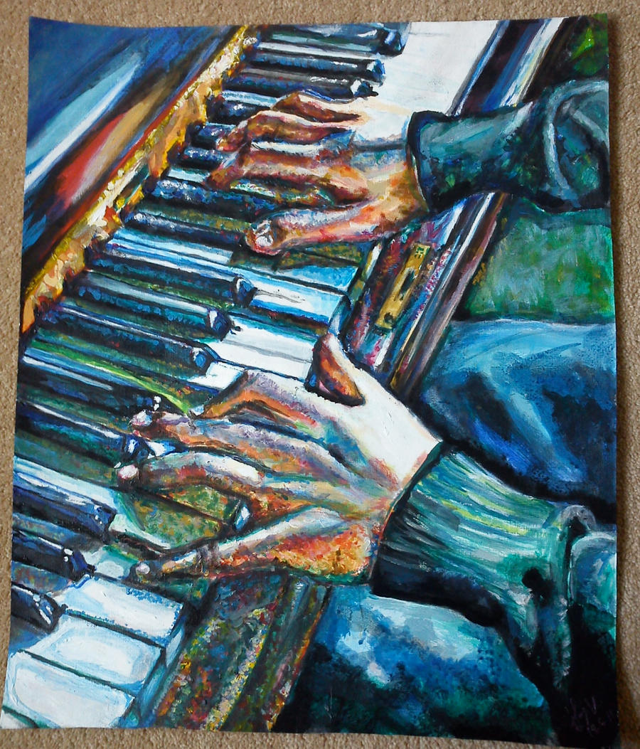 Piano Hands by dedfishy94 on DeviantArt