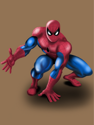 Spider-Man 60s by pippopappo3
