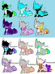 Fox Breedables! (4 slots left!)
