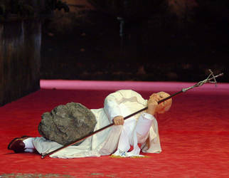 Pope Hitby Meteor by CulturalMarxism