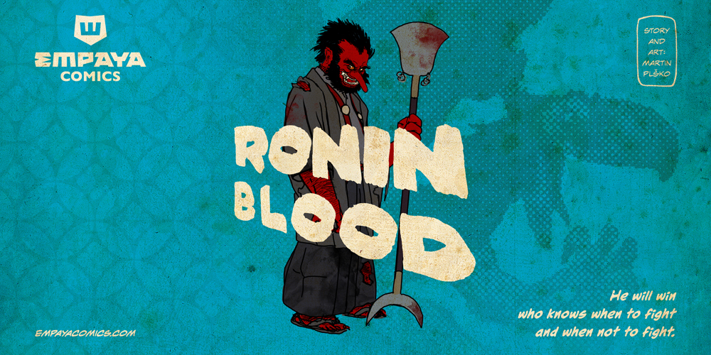 RONIN BLOOD promo art2: Who will win? by burningflag