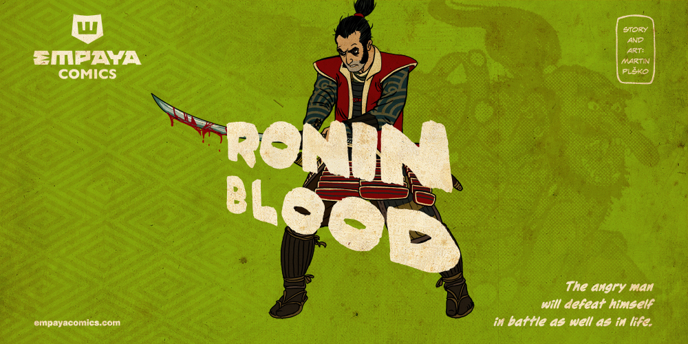 RONIN BLOOD promo art5: the angry man will defeat by burningflag
