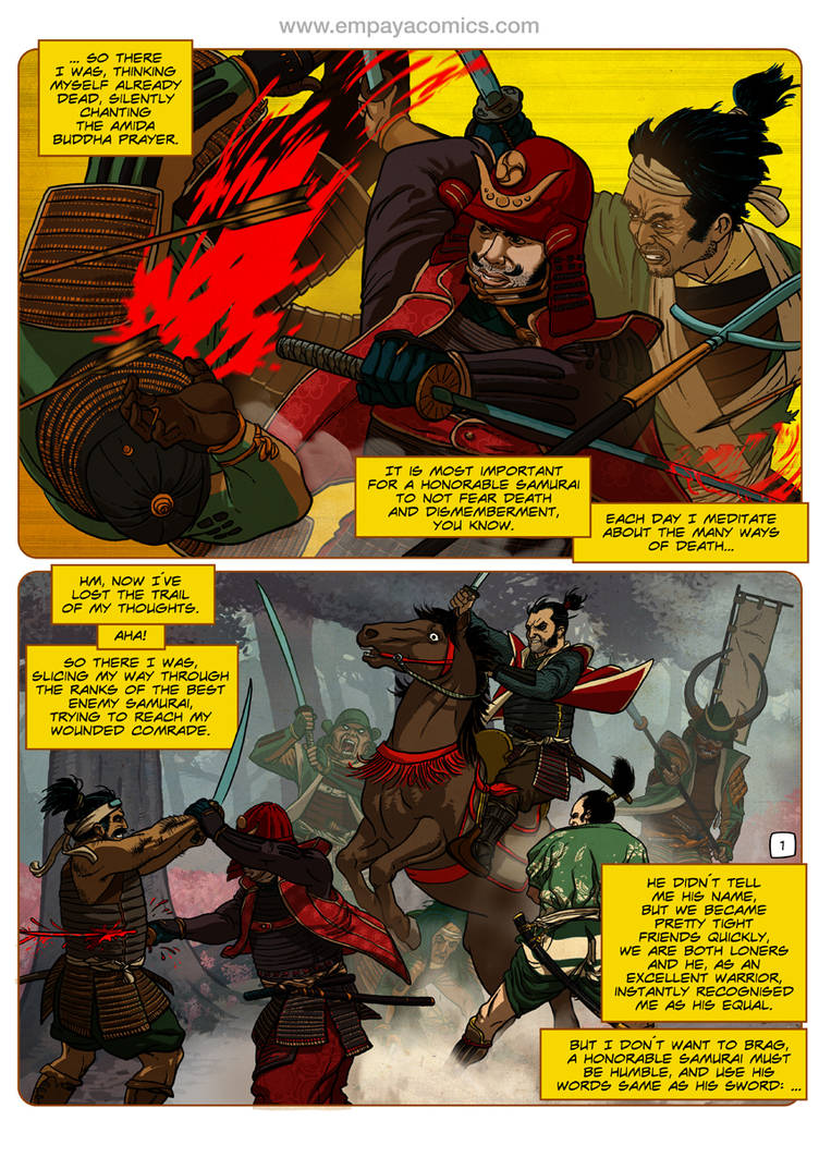 Ronin Blood, issue3, page 1
