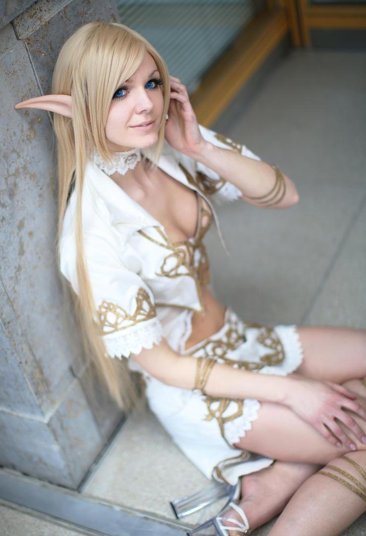 Elf babe cosplay porn sex image