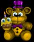 Fredbear Plush With Cupcake
