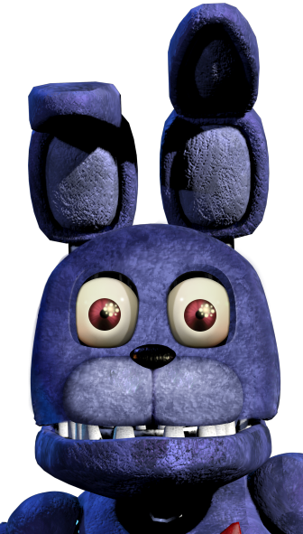 Withered bonnies face