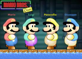 Mario Bros. Classic by SuperBioman4