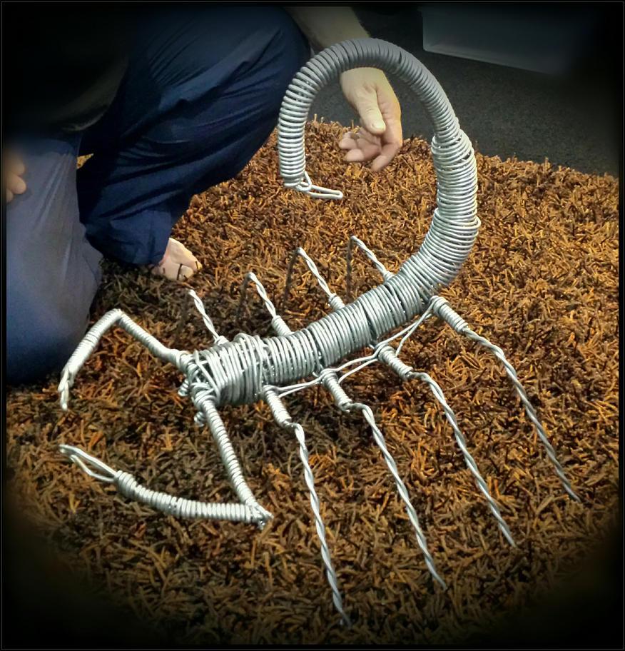 Aluminium Scorpion by marshall-art
