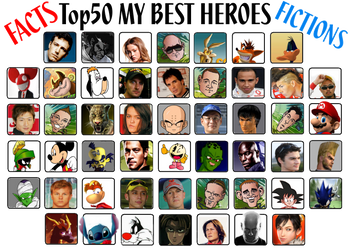 My 50 Characters PART2 by Wilku333