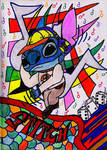 Stitch like listen music by Wilku333