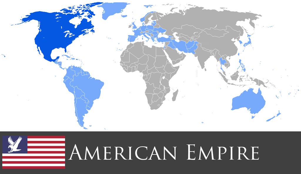 Greater American Empire by PrussianInk