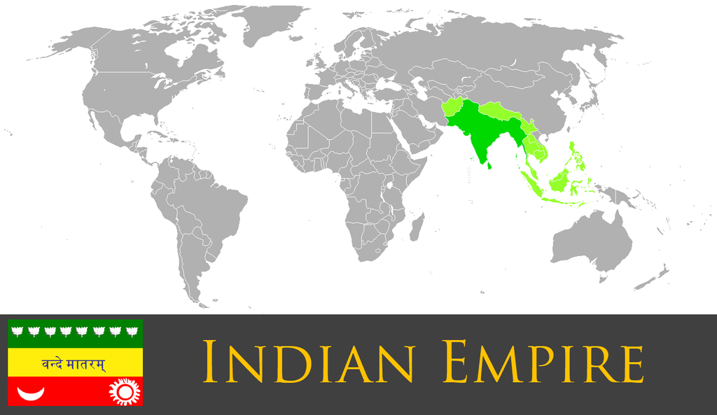 Greater Indian Empire by PrussianInk