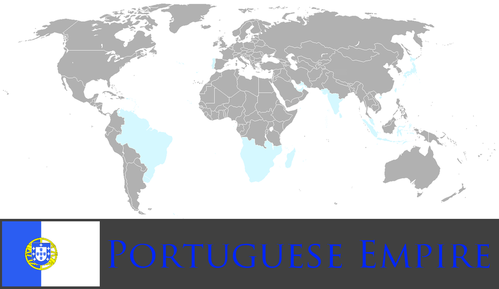 Greater Portuguese Empire by PrussianInk