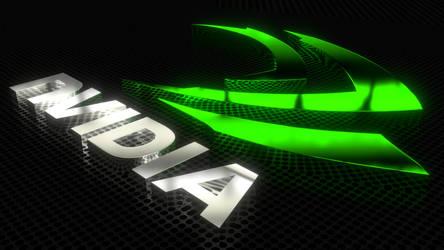 Nvidia Logo WIP by brektzar