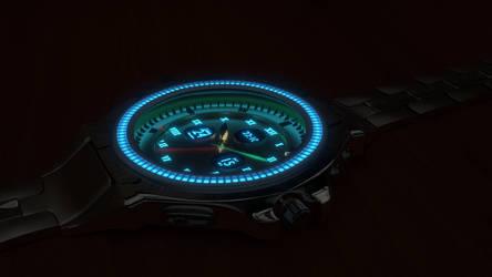 Wrist watch by brektzar