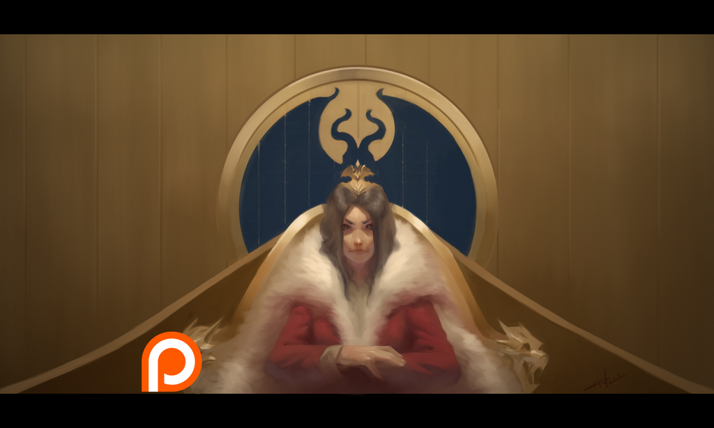 Queen Agnes (+Process video!) by z4m97